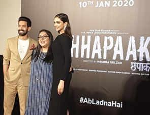 Deepika Padukone tears up at 'Chhapaak' trailer launch, calls it career's most special film
