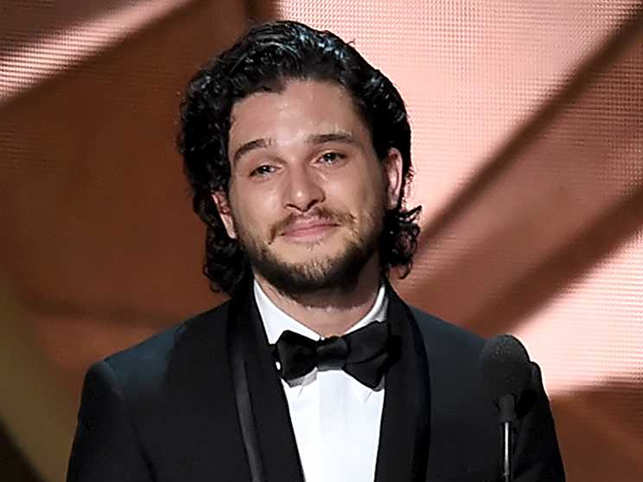 Kit Harington, who got nominated for a Globe for the first time, said he was blissfully unaware about it until his publicist called him.
