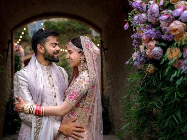 In 2017, Virat Kohli and Anushka Sharma got married in Tuscany, Italy amidst close friends and family.