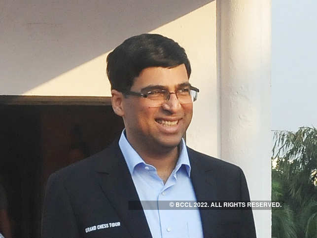 Viswanathan Anand spends quality time with his son watching movies.