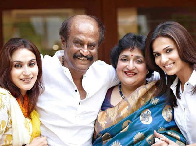 Rajinikanth's younger daughter Soundarya shared a family picture as well on his 69th birthday.