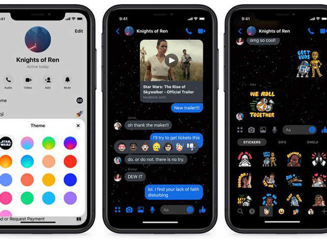 The update adds AR effects to video calls made using the Messenger app, and also video posted in the form of 'Stories.'