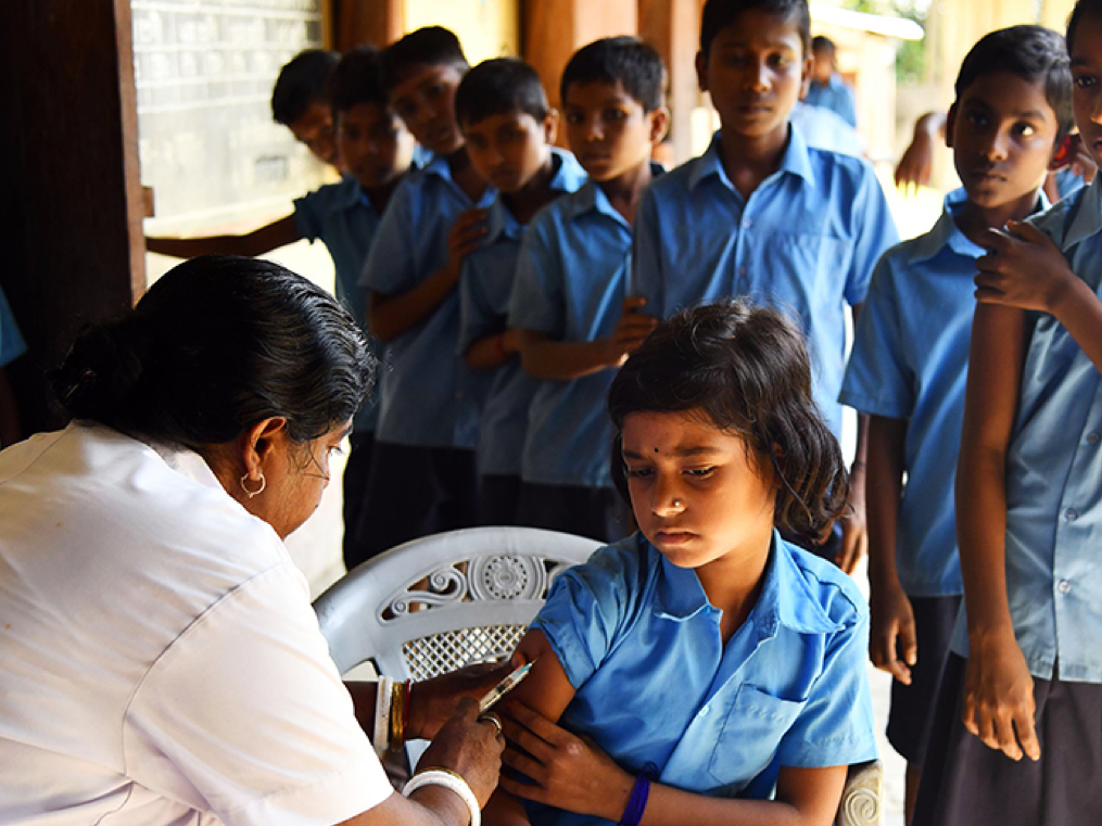 India wants to achieve 90% immunisation coverage by 2020. Step 1: remove vaccine hesitancy.