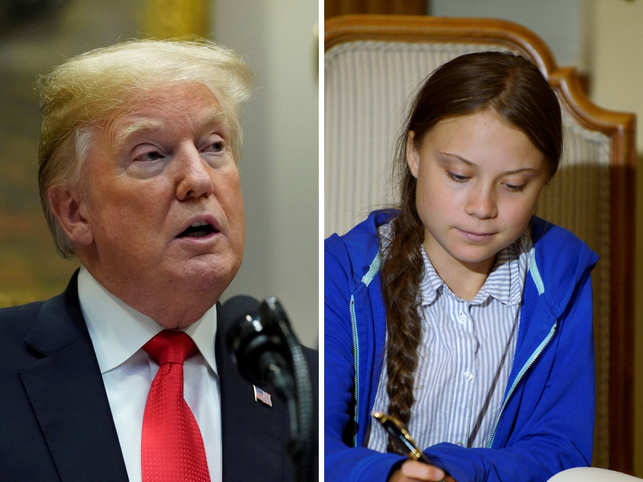 Greta Thunberg hits back at Donald Trump's 'anger management' comment, changes Twitter bio to 'currently chilling'