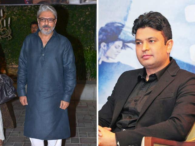 Sanjay Leela Bhansali (left) and Bhushan Kumar (right) will co-produce the upcoming film.