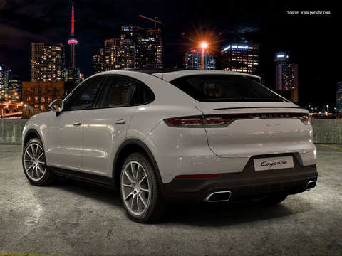 Looks Inside Out Porsche Launches Cayenne Coupe Check Price Features The Economic Times