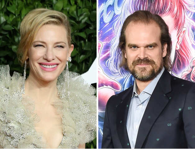 It will be a starry affair at 'The Simpsons': Cate Blanchett & David Harbour are heading to Springfield