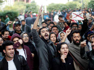 Detained Jamia students released; protest outside Delhi Police HQs over