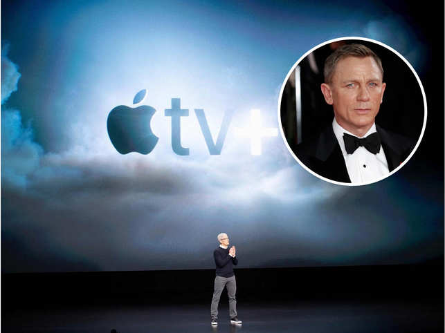 Apple Inc executives met James Bond franchise-owner MGM Holdings Inc and the collegiate athletic conference Pac-12 earlier this year.