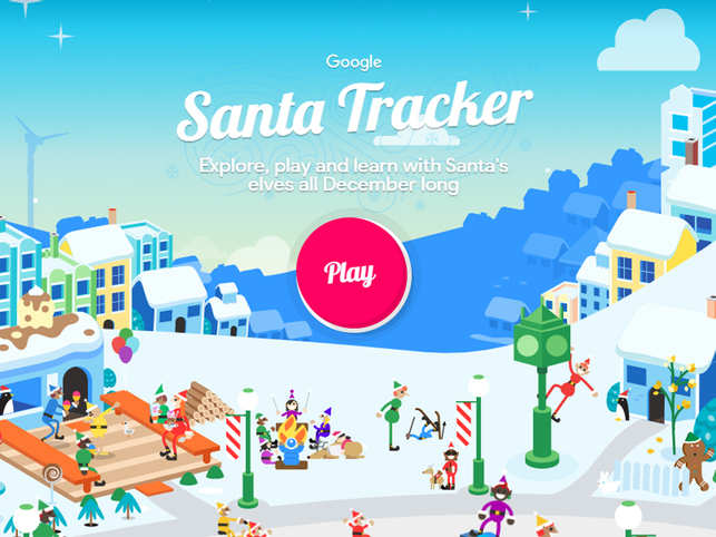 The tool opens with a welcome screen and on clicking 'Play', you can explore a plethora of heartwarming Christmas-themed stories and fun games.