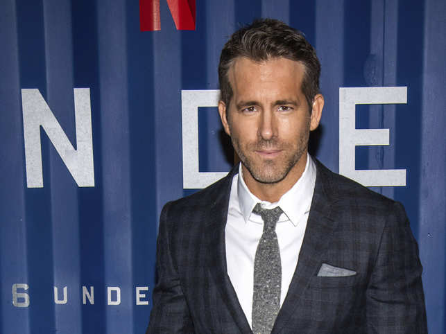 Ryan Reynolds made the revelation during an appearance on a holiday edition of 'Live With Kelly and Ryan'.