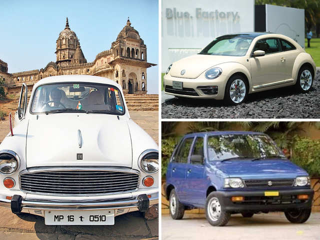 Ambassadors, Beetle, Maruti 800: It was the end of the road for some iconic cars this decade