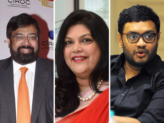 Most of the business leaders are aiming to walk on a healthier path in 2020. (In pic from left: Harsh Goenka, Falguni Nayar, Sriharsha Majety)
