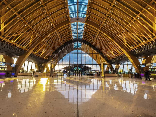 Terminal 2 of the Mactan-Cebu International Airport was recently adjudged a winner at the World Architecture Festival held in Amsterdam, in the 'Completed Buildings-Transport' category.