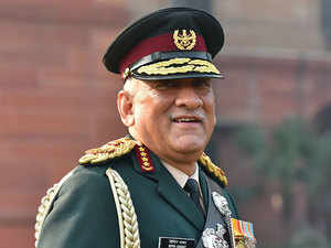 Forces stay away from politics, follow govt directives: Gen Rawat after taking charge as CDS