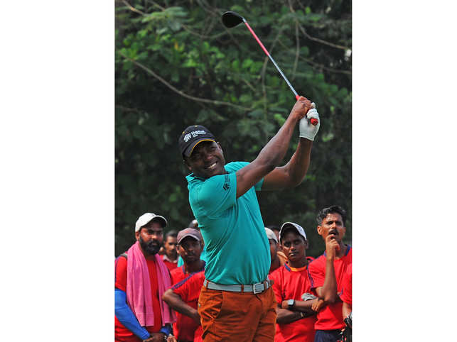 In Mumbai for an event recently, Brian Lara recalled how he started playing golf.