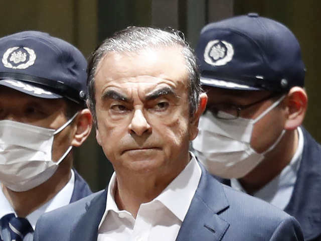 Ghosn getaway gives the game away