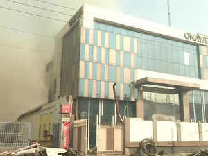 Delhi: Building collapses after fire at factory in Peera Garhi, 35 fire tenders rushed to spot