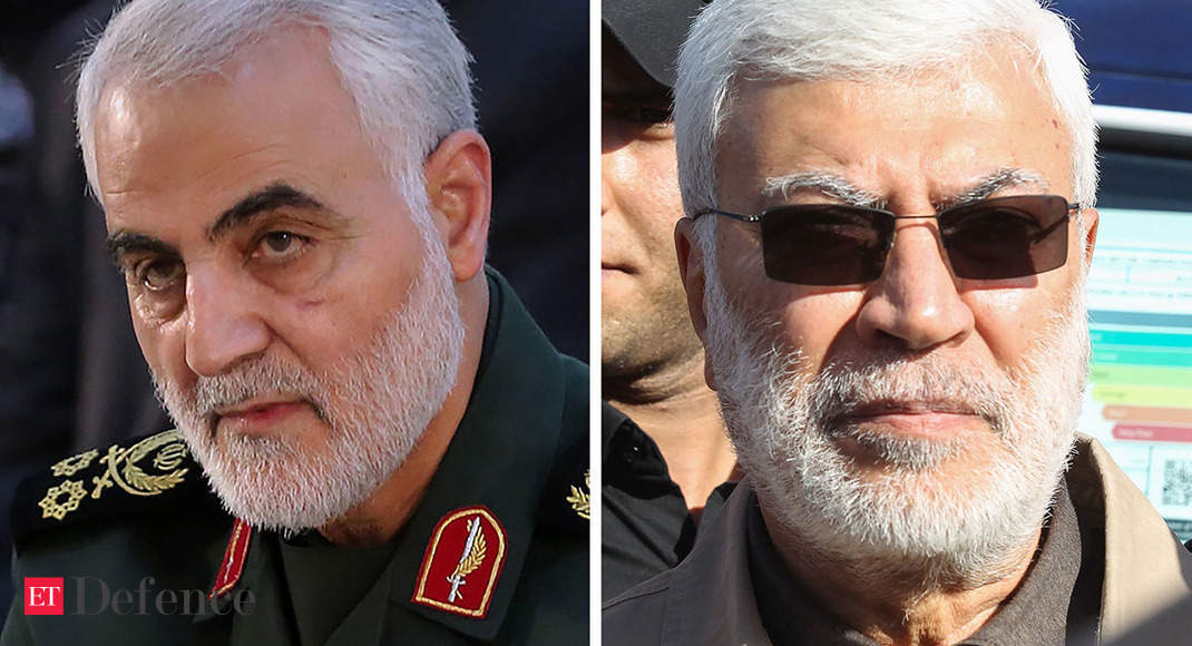Iran's Qassem Soleimani and Iraq's Abu Mahdi al-Muhandis killed in US air strike