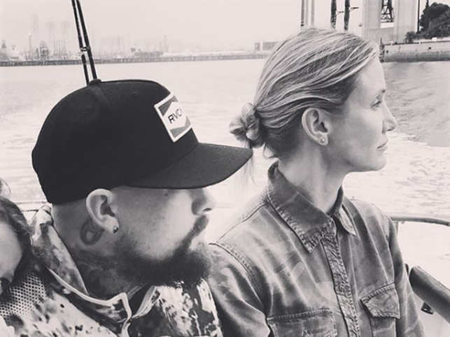 Cameron ​​Diaz and Benji ​Madden got married in January 2015. ​