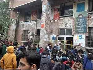 JNU: Masked mob attacks students' Union President; many injured