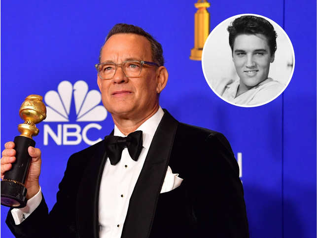 Tom Hanks is playing Presley's shifty talent manager Colonel Tom Parker in Baz Luhrmann's untitled biopic.