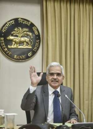 Mumbai: Reserve Bank of India (RBI) Governor Shaktikanta Das at the RBI's fourth...