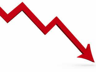 decline graph getty