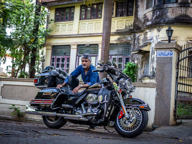 Khanna calls the Brough Superior his favourite bike, says it is the Rolls Royce of motorcycles.