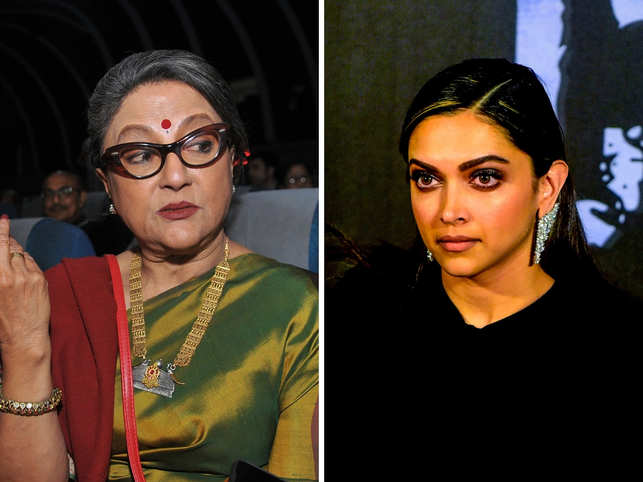 Aparna Sen (L) tweeted that the country will remember Deepika Padukone's 'act of courage'.