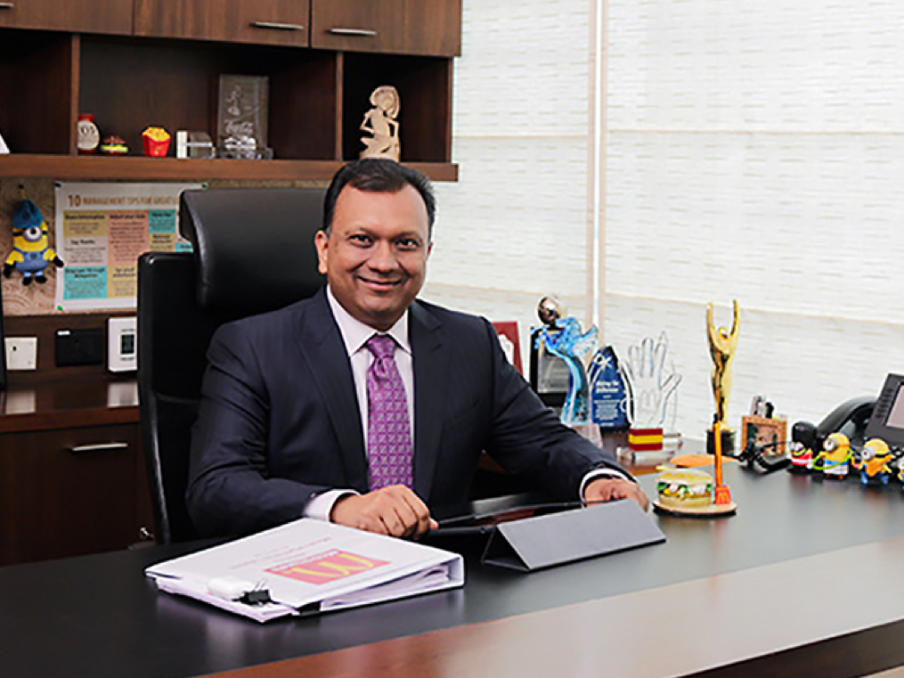 McDonald's Amit Jatia: the vegetarian boss of chicken burgers