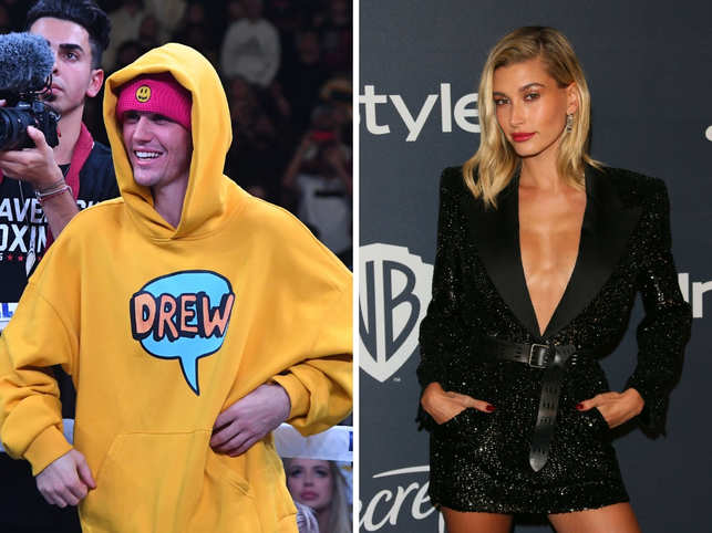 Hailey Bieber (right) took to Twitter to slam trolls who mocked how her husband, Justin Bieber (left), 'looks'.