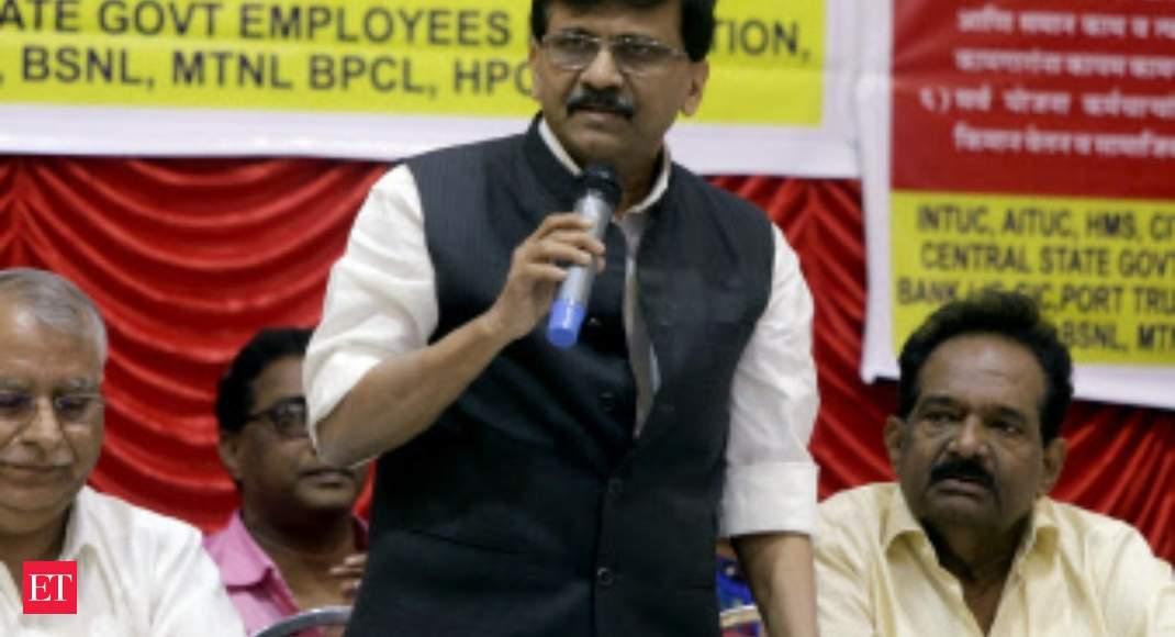 Sanjay Raut seeks stand of Shivaji's descendants on book comparing him with Modi