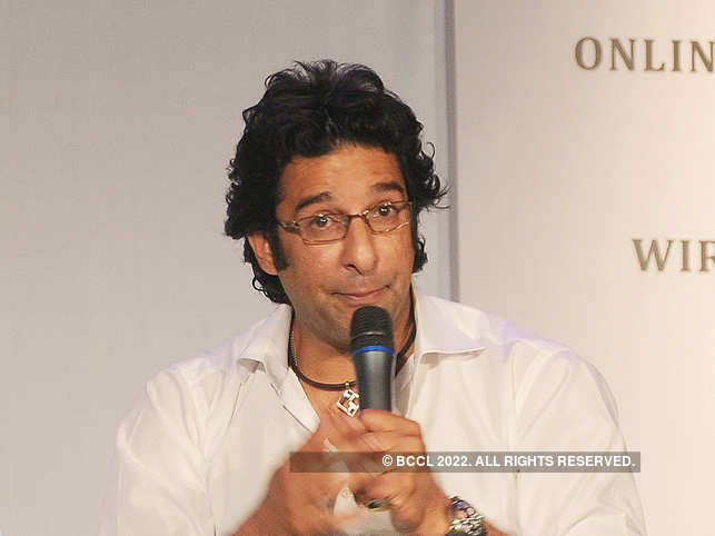 """While flying from Karachi to Dubai, Wasim Akram lost his watch, a """"family heirloom""""."""