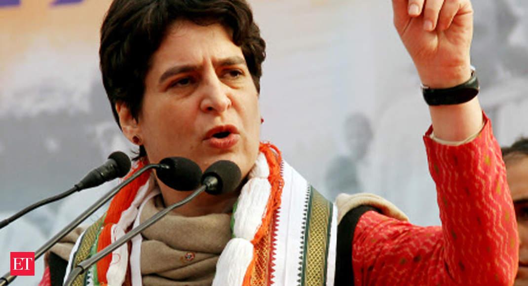 Priyanka Gandhi Vadra slams government for rising inflation