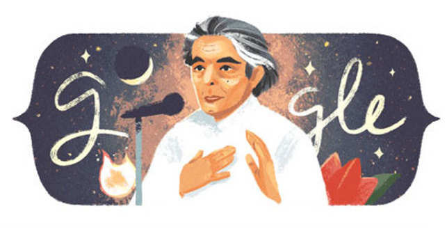 Kaifi Azmi's 101st birth anniversary: Google celebrates with a doodle