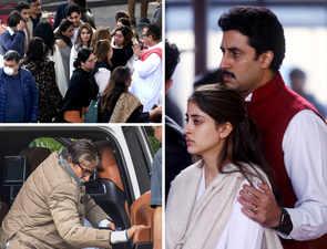 Kapoors, Bachchans Bid Tearful Goodbye To Ritu Nanda