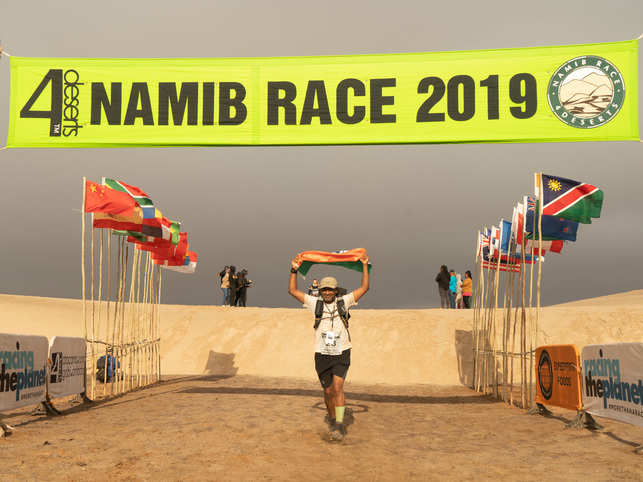 When Cidambi turned 40, he looked for a bigger challenge beyond the regular marathon, which is when he signed up and started running in ultramarathons.