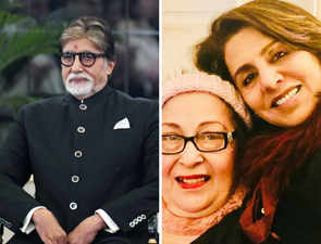 A powerful eulogy: Amitabh Bachchan mourns Ritu Nanda's demise in blog post, calls her 'ideal in-law'