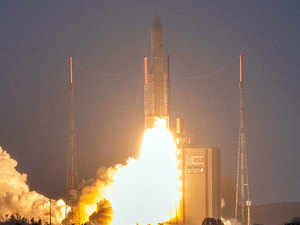 ISRO's GSAT-30, a communication satellite, successfully launched from French Guiana