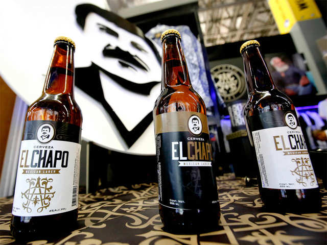 Say cheers with 'El Chapo': Guzman's daughter launches beer named after Mexican kingpin father