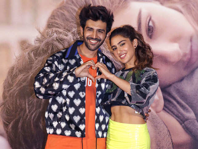 """""""We will watch 'Love Aaj Kal'. What else. He will also come,"""" Sara said."""