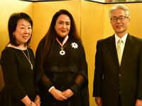 Jyotsna Suri felicitated for strengthening Indo-Japan ties