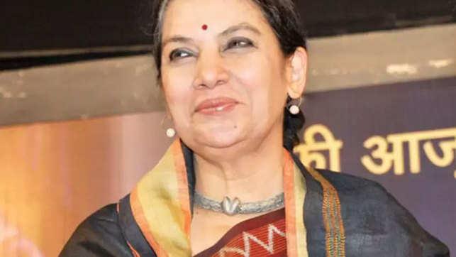 Shabana Azmi injured in road accident on Mumbai-Pune Expressway