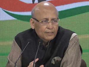 Abhishek Singhvi on CAA: Congress not against granting citizenship to Hindus