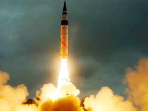 India successfully test-fires nuclear-capable K-4 ballistic missile off Andhra Pradesh coast