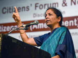 Don't want law that look at businesses with suspicion: Nirmala Sitharaman