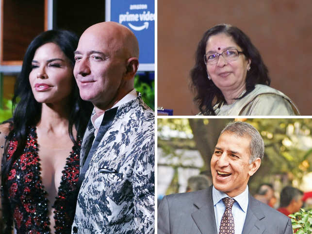 On India Inc's social calendar: Bezos bonds with Mumbai A-listers; Rajan Mittal's B'day bash; Shikha Sharm