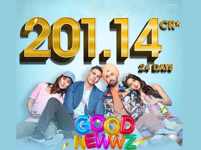 It's good news for the 'Good Newwz' cast.