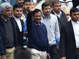 CM Arvind Kejriwal files nomination after waiting for over 6 hours